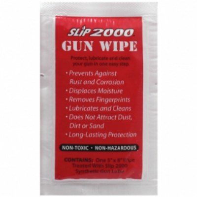 Slip 2000 Gun Wipes - 20 Pack