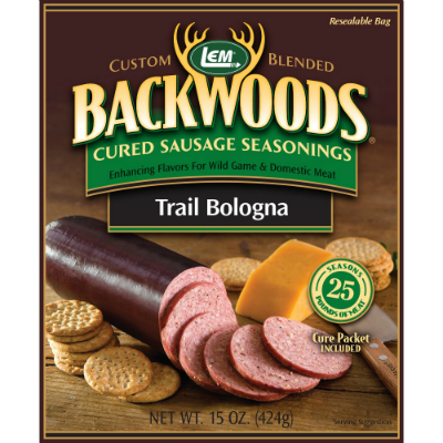 LEM Backwoods Seasoning Trail Bologna for 25 lbs
