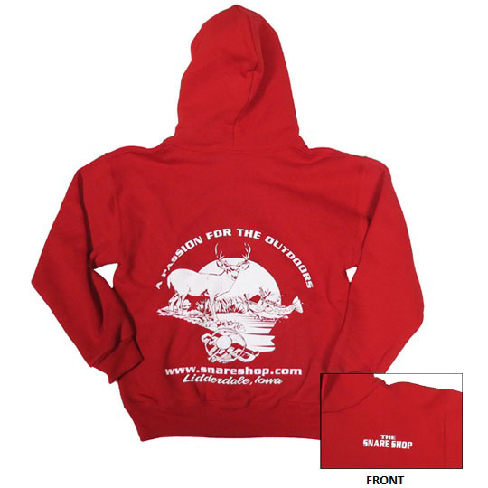 SNARE SHOP RUSSELL YOUTH FLEECE HOODIE