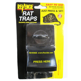 REVENGE QUICK SET RAT TRAP **discontinued