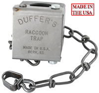 DUFFER'S RACCOON TRAP