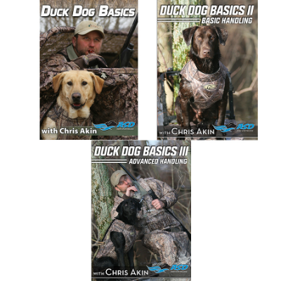 Avery Duck Dog Training DVD's