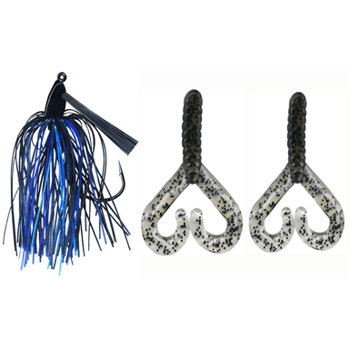 Arkie 1/4 oz. Platinum Swim Jig