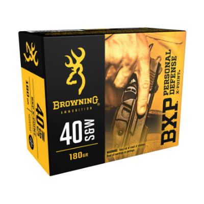 Browning BXP Personal Defense X-Point .40 S&W 180 Gr 20 Rounds