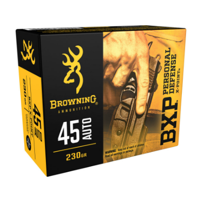 Browning BXP Personal Defense X-Point .45 Auto 230 Gr 20 Rounds