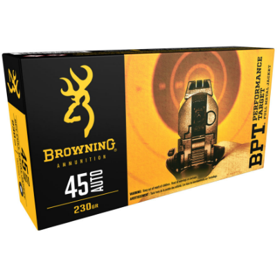 Browning Training & Practice FMJ .45 Auto 230 Gr 100 Rounds