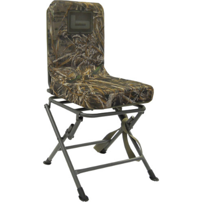 Banded Swivel Blind Chair - Realtree Max 5