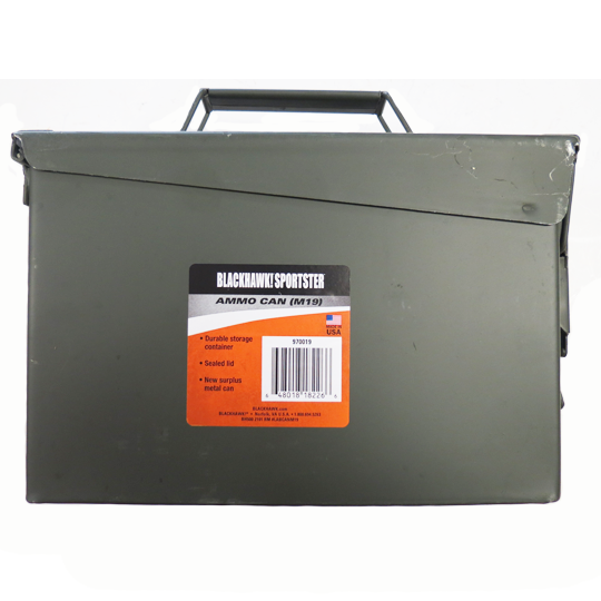 BLACKHAWK AMMO CAN (M19) - 30 CAL