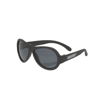 Junior Babiators Aviators Black Ops Black Sunglasses - Junior Ages 0 - 2