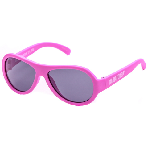 Junior Babiators Aviators Princess Pink Sunglasses - Junior Ages 0 - 2