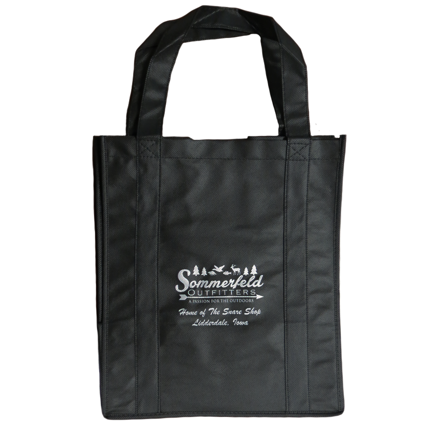 BLACK REUSABLE BAG