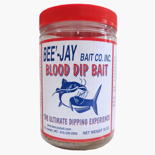BEE'-JAY CATFISH DIP BAIT - 16 OZ