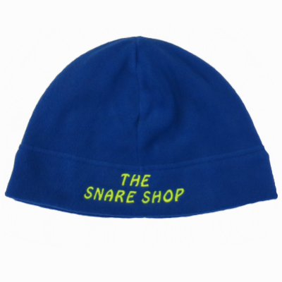 Snare Shop Blue Fleece Beanie