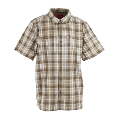 Browning Fulton Shirt - Short Sleeve - Beech Plaid DISCONTINUED