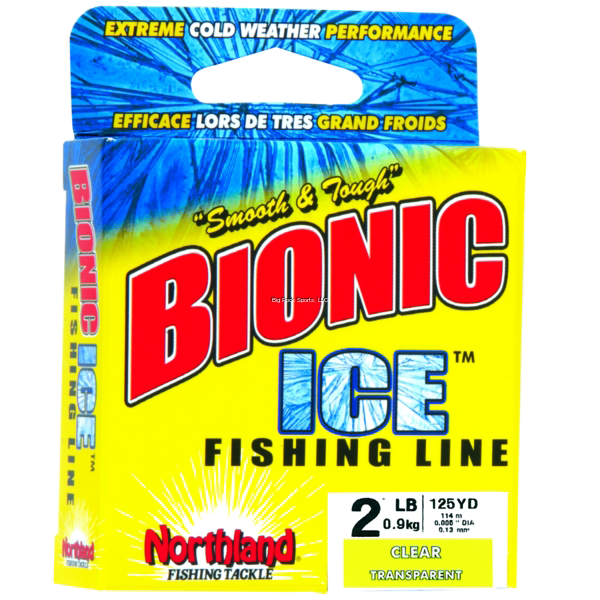 Northland Tackle Bionic Ice Fishing Line - Clear