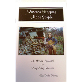 Raccoon Trapping Made Simple Book
