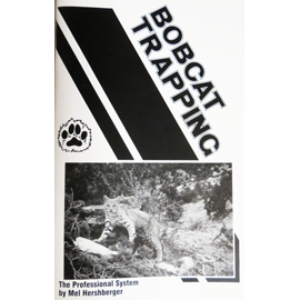 BBobcat Trapping Book The Professional System = OUT OF STOCK