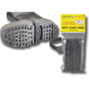 BOOT SCENT PADS - WILDLIFE RESEARCH CENTER® - 1 PAIR