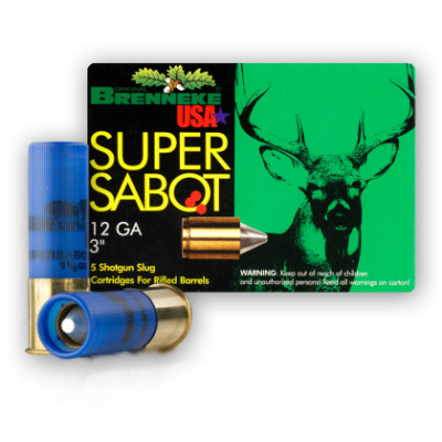 Brenneke USA Super Sabot Slugs 12 ga - 3