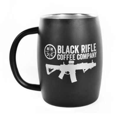 Black Rifle Coffee - Classic Logo Stainless Steel Mug