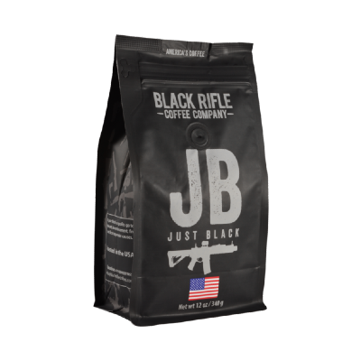 Black Rifle Coffee - Just Black - Ground 12 oz Bag IN STORE ONLY
