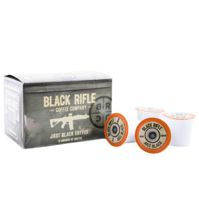 Black Rifle Coffee - Coffee Rounds - Just Black