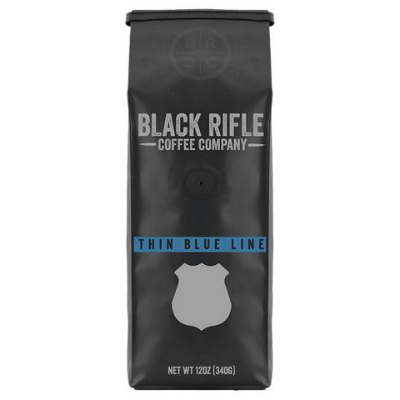 Black Rifle Coffee - Thin Blue Line - Ground 12 oz OUT OF STOCK
