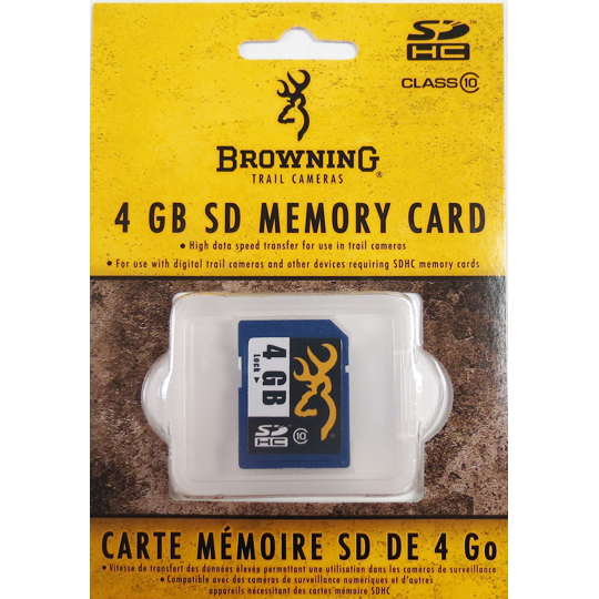 BROWNING TRAIL CAM SD CARD