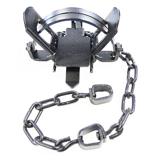 KO #1.5 Coil Spring Trap  *DISCONTINUED