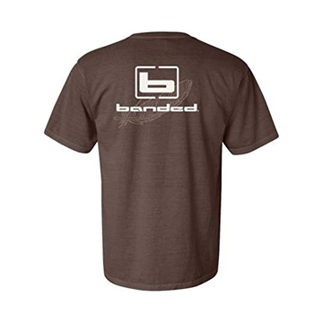 Banded Signature Series Short Sleeve Shirt - Brown