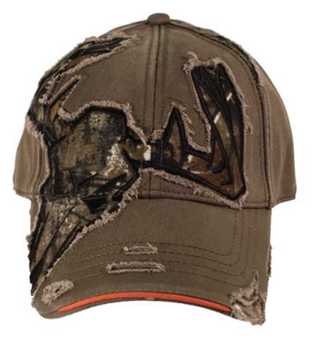 Buck Wear Skull Cut Away Hat