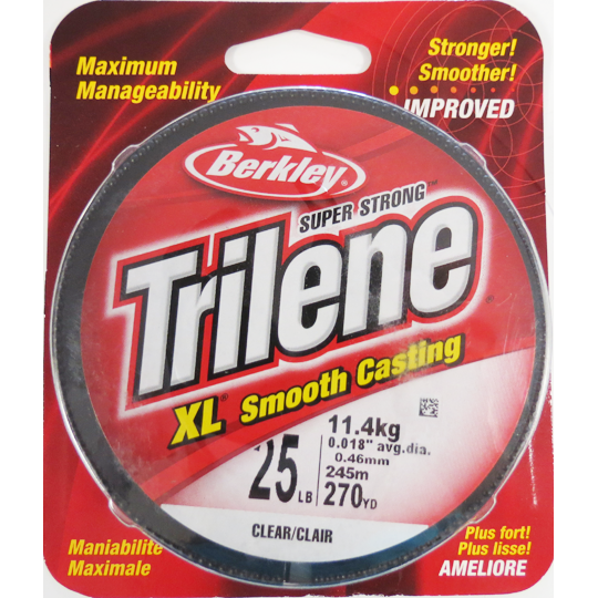 Berkley Trilene XL Smooth Filler Spool Clear
