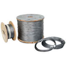 GALVANIZED AIRCRAFT CABLE - 7X7 1/8
