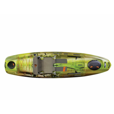 Pelican Kayak The Catch 120NXT - Fade Venom/Light Grey - SOLD IN STORE ONLY