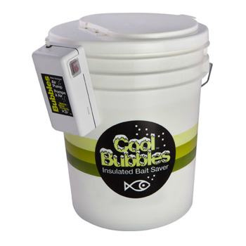 Marine Metal Cool Bubbles 5 Gallon Bucket and Pump