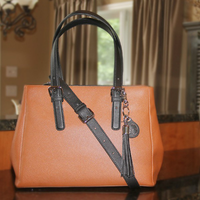 Concealed Carrie Casual Color Block Satchel