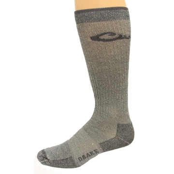 Drake Mens Merino Wool Sock - Grey