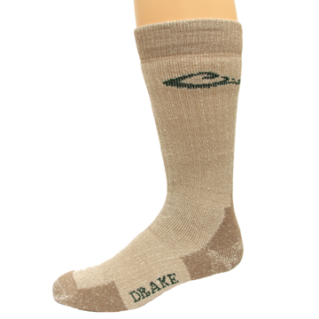Drake Merino Wool Mens Socks - Taupe