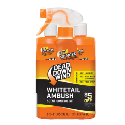 Dead Down Wind Whitetail Ambush Scent Control Kit