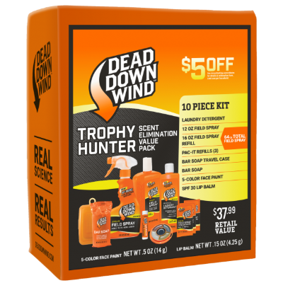Dead Down Wind Trophy Hunter Scent Elimination Value Pack