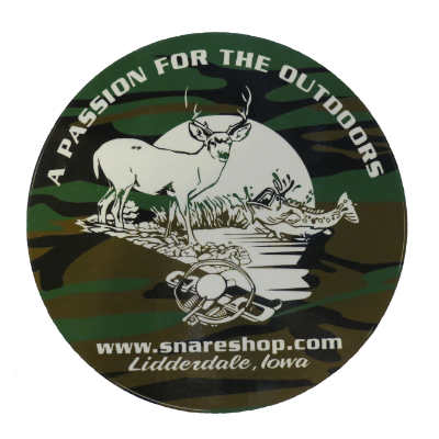 The Snare Shop Vinyl Window Decal