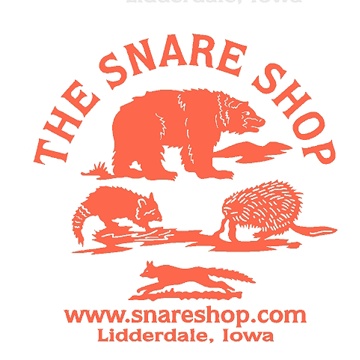 The Snare Shop Window Decal