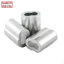 5 32 Aluminum Double Ferrules Oval Sleeves The Snare Shop