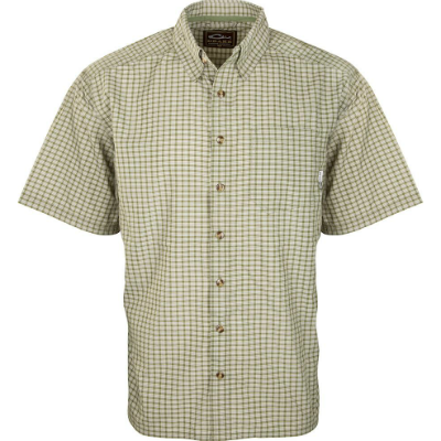 Drake FeatherLite Check Shirt Short Sleeve DISCONTINUED