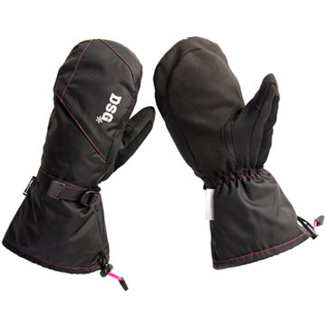 DSG Women's Craze Mittens Black