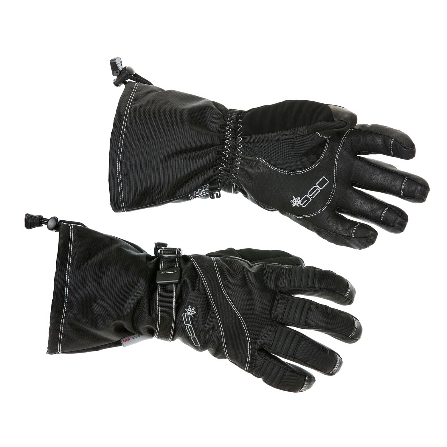 DSG Womens Trail Glove Black