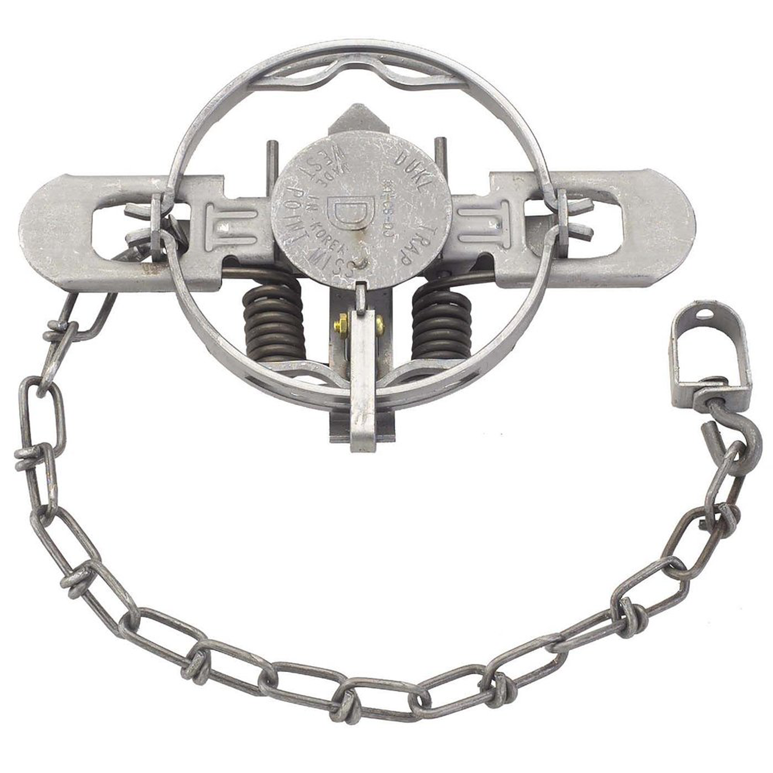 Duke #1 1/2 Coil Spring Double Jaw Trap