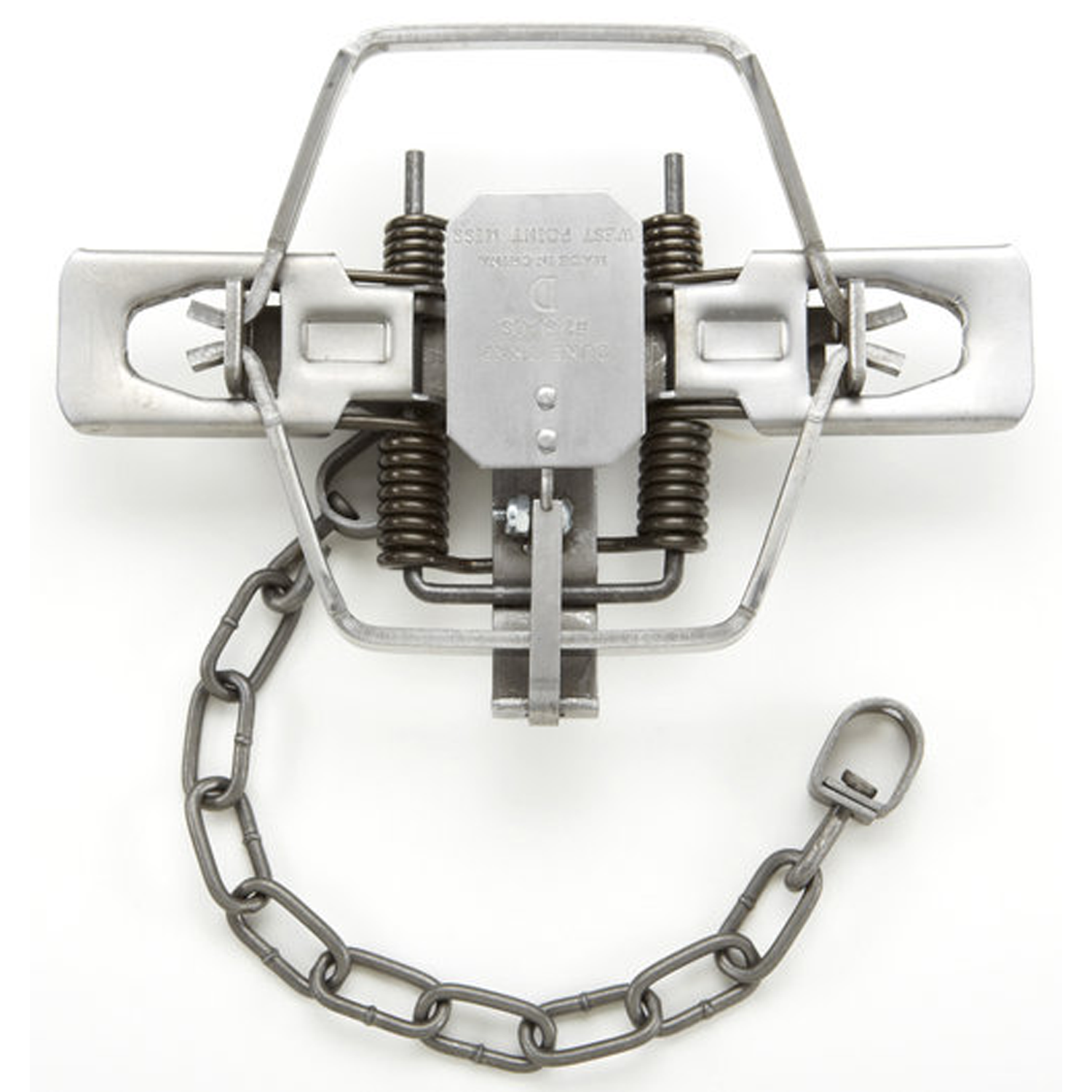 Duke #2 Coil Spring Offset Square Jaw Trap