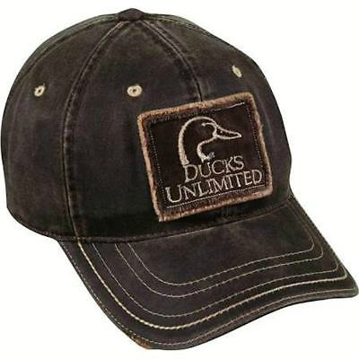 Ducks Unlimited Weathered Cotton Cap