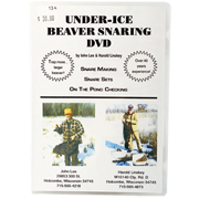 Under-Ice Beaver Snaring